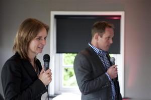 Astrid Blaauw, samen met Mark van Leeuwen