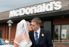 McDonalds trouwen - weddingplanner8