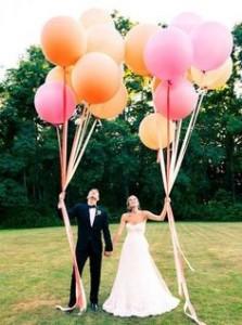 Fotoshoot met ballonnen