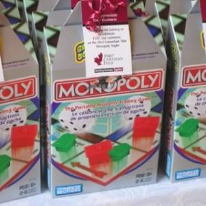 Mini monopoly