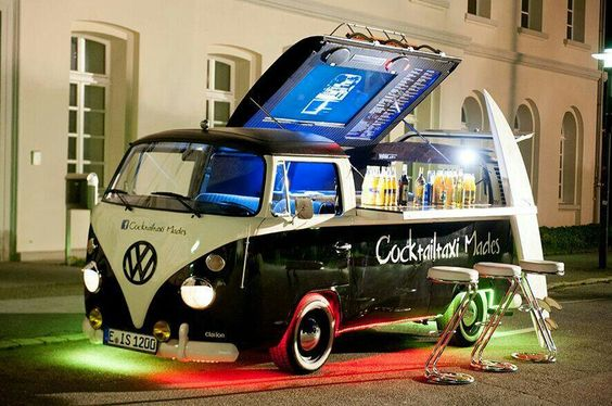 Cocktail truck