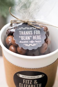 Chocolade bedankje
